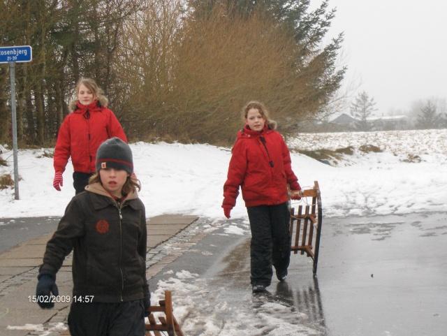 Jeanette, Pernille og Alexander