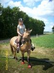 Pernille til hest